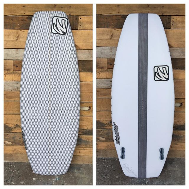 """4'5"""" wake board I made last week for a friend. First for me. Eps/epoxy"""