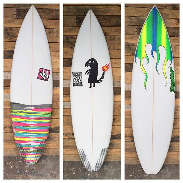 """Just a few of the ones with color from this week. R-L 5'9"""" 5'10"""" 6'4""""."""