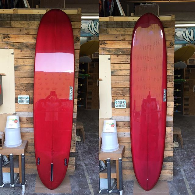 """An 8'8"""" I built last week for Danny. I did a little trick in the gloss to give it a little different look."""