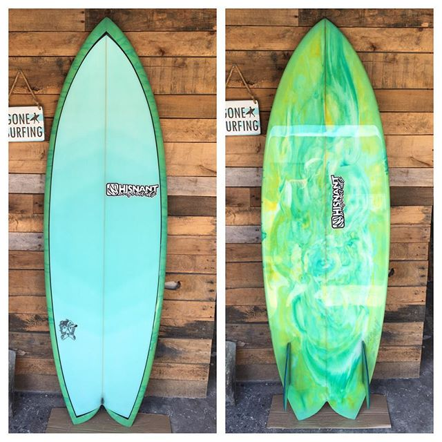 """Here's the finished pics of the 5'6"""" fish that I built for my friend Brian Robertson"""