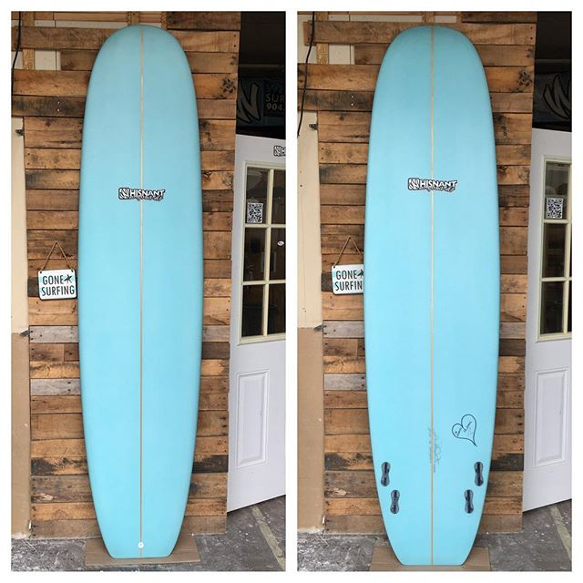 """8'0"""" quad simmons(ish) for my good friends wife."""